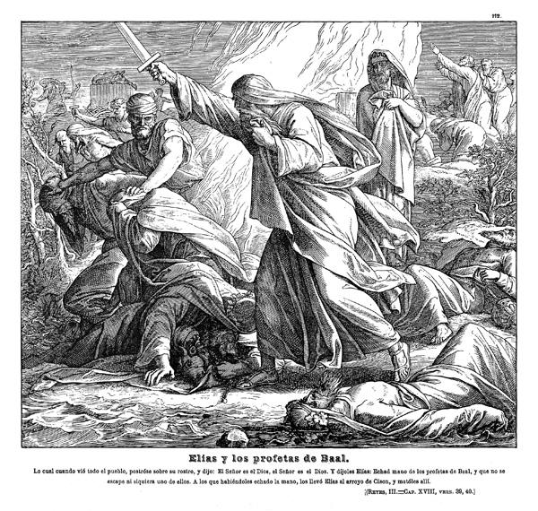 Elias Mata A Los Profetas De Baal | Today Top Tweets